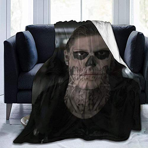 HUYIN Evan-Peters 3D Throw Blanket-Soft Micro Fleece Blanket-2-60 'x50