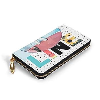 BUSAMEDO Harry-Styles Fashion Women Men Leather Wallet Clutch Bag Long Purse Organizer 7.48 X 4.13 X 0.98 Inches