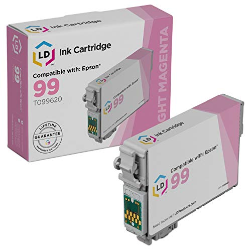 LD Remanufactured Ink Cartridge Replacement for Epson 99 T099620 (Light Magenta) New Hampshire