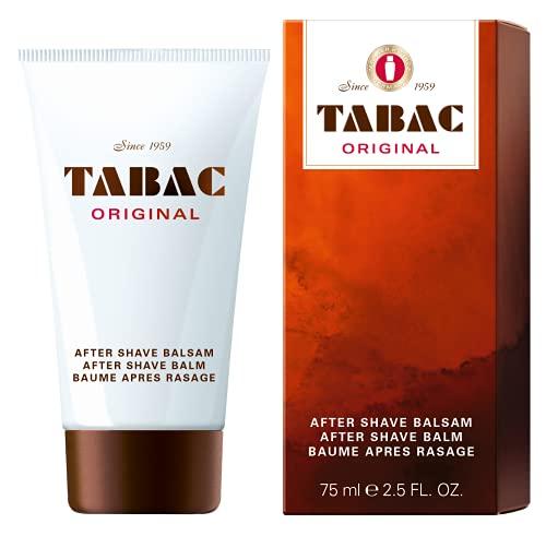 Tabac® Original | After Shave Balm sanfte After Shave für empfindlichere Männerhaut - Beruhigt und entspannt nach der Rasur - Original Seit 1961 | 75ml