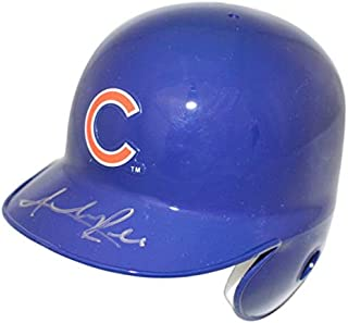 Addison Russell Autographed Signed Chicago Cubs Mini Batting Helmet JSA
