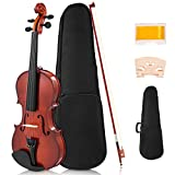 Best Beginner Violin With Cases - Costzon Full Size 4/4 Solid Wood Violin Review
