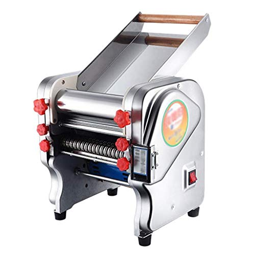 GJJSZ Machine à pâtes électrique en Acier Inoxydable,Machine à pâtes à Rouleaux,Coupe-pâte boulettes à roulettes Nouilles à roulettes commodité (Taille:220 mm)