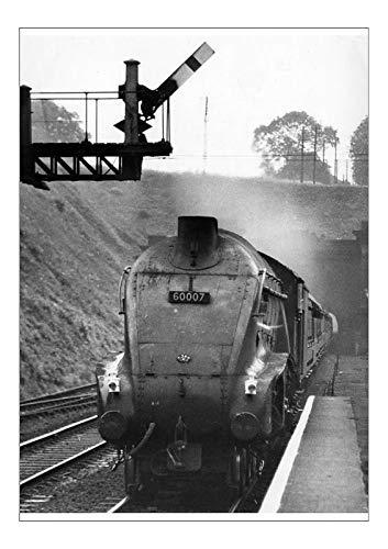 Media Storehouse A1 Poster of Steam locomotive Sir Nigel Gresley, Welwyn Garden City (14407870)