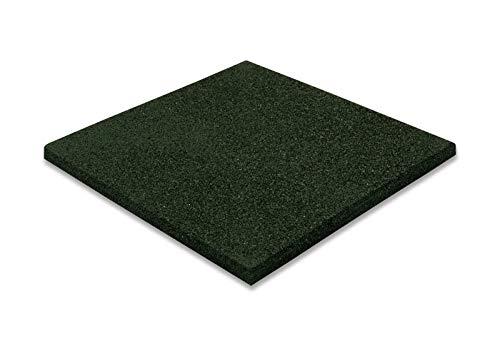 krabla 1m² fallschutzmatte Spielplatz Outdoor 50x50 grün rot schwarz Pool schaukel rutsche Turm dunkelgrün gummiplatten außenbereich draußen stallmatten gummimatten 25