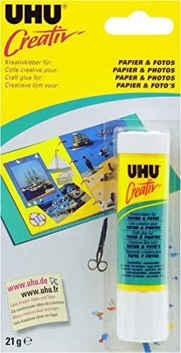 UHU 47175 Spezialkleber, Creativ, Papier, Fotos Klebestift, 21 g