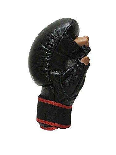 KWON Sv Handschuh Virtus für das Selbstverteidigungstraining, Echtleder L