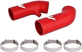 Mishimoto MMHOSE-370Z-09AIRD Nissan 370z Silicone Air Intake Hose Kit, 2009-2011, Red