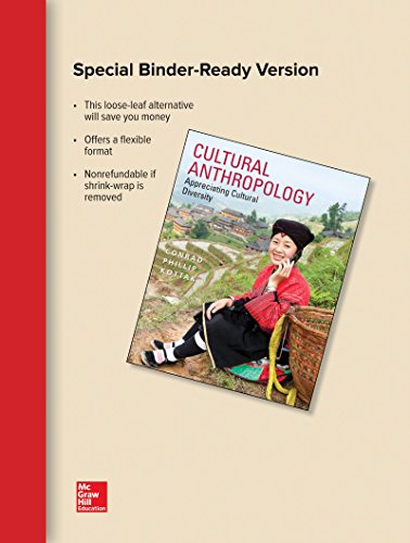 Cultural Anthropology Loose Leaf Edition with Cultural Sketches: Case Studies in Anthropology
