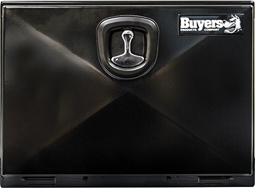 Buyers Products 1742300 Black XD Series Steel Underbody Toolbox (18x18x24)