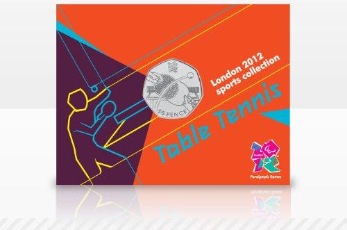 Londres 2012 - La coleccin de los deportes 50p - Mesa de ping pong