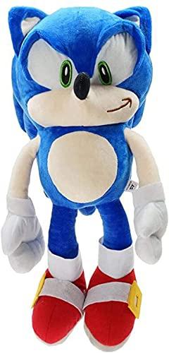 Chicas de dibujos animados Boom Sonic 45 cm lindo juguete de felpa decoración de la habitación regalo de cumpleaños muñeca de peluche regalo creativo