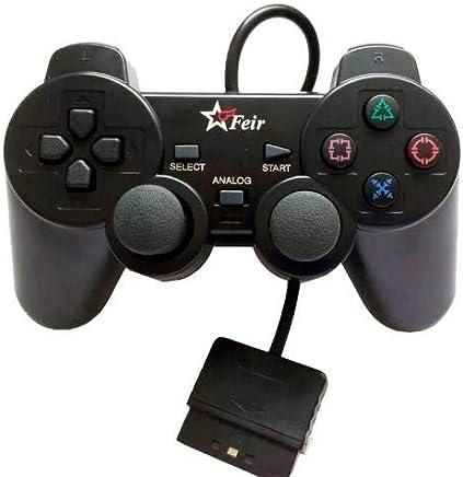 Controle Analógico - Preto - PlayStation 2