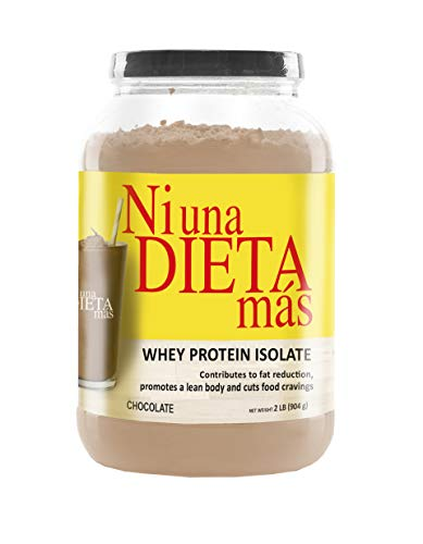 NI UNA DIETA MAS Protein to Reduce Abdominal Fat - for Kids and Adults (Delicious Chocolate)