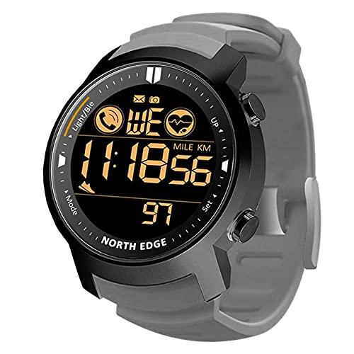 YDK Smartwatch Hombre Monitor De Ritmo Cardíaco Monitoreo De Sueño Impermeable Bluetooth Running Pedómetro Stropewatch Smartwatch Android iOS,B