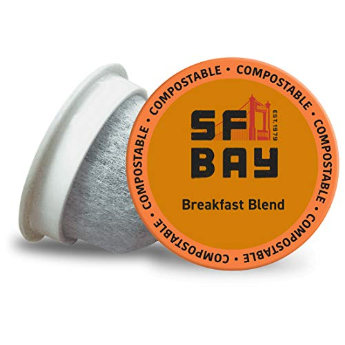 Our #1 Pick is the SF Bay Coffee Breakfast Blend Coffee Pods