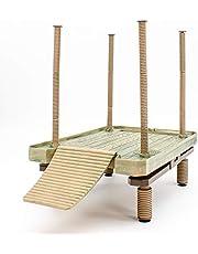 Penn-Plax Reptology Floating Turtle Pier e Basking Platform - Decorativi, funzionali e naturalmente ispirati - Grandi dimensioni (Numero modello: REP603)