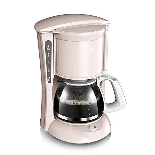 Sdesign Cafetera de goteo, filtro de café de la máquina de un solo toque, mantener...