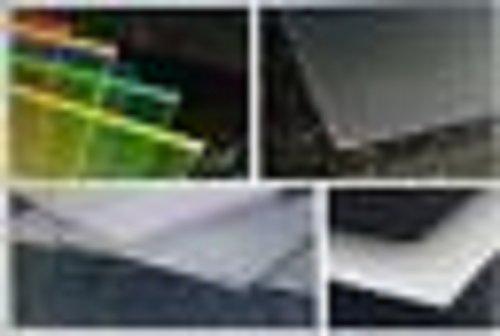 Polycarbonat Platte 600 x 500 x 2 mm Milchglas 30 /% Lichtdurchl/ässigkeit Zuschnitt alt-intech/®