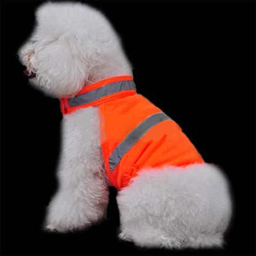 Redcolourful Chaleco Reflectante de Seguridad de Alta Visibilidad para Perros Que Caminan...