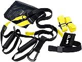 ffitness suspension strap all, giallo, taglia unica