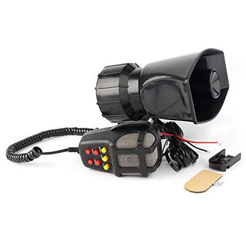 Why Choose GZYF 12V 100W Siren Air Horn Speaker PA System Fits Auto Car Van Truck Boat, 7 Siren Soun...