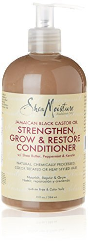 SheaMoisture Jamaican Black Castor Oil Strengthen, Grow and Restore Rinse Out Conditioner by Shea Moisture