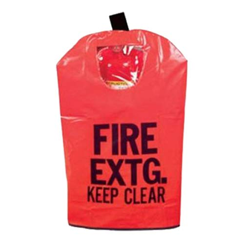 20 Lb FIRE EXTINGUISHER COVER (With Window) For 10 Lb to 20 Lb Fire Extinguishers, Medium 25