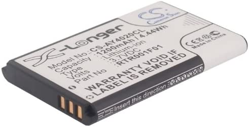 Replacement Battery Part Elegant No.1000060 EXP1240H Uniden Virginia Beach Mall for EXP1240