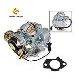 Madlife Garage Carburetor Type Carter YFA 1 Barrel For 1965-1985 F100 F150 F250 F350 4.9L 300cu/ 4.1L 250cu/ 3.3L 200cu Engines(Automatic Choke)