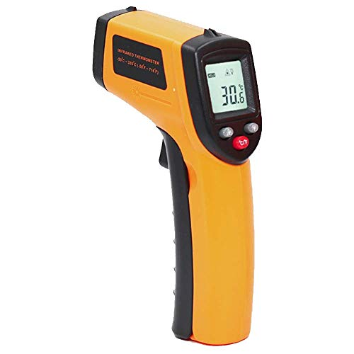 Infrared Thermometer Temperature Gun(Not for Human) -58℉~752℉(-50℃~400℃) - for Industrial, Kitchen Cooking, Ovens (Battery not Include)