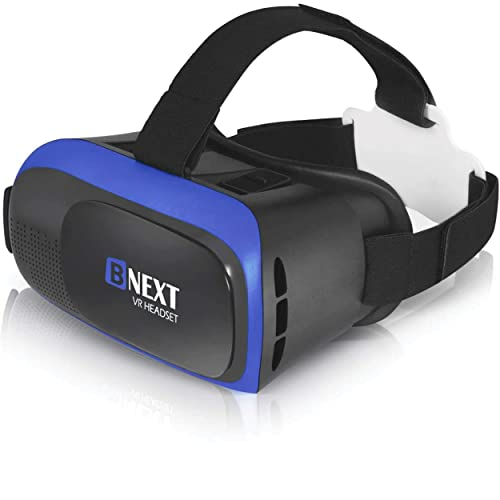 VR Headset Compatible with iPhone & Android Phone - Universal Virtual Reality...