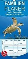 In der Schwebe: Meeresschildkroeten - Familienplaner hoch (Wandkalender 2022 , 21 cm x 45 cm, hoch): Meeresschildkroeten: In der Ruhe liegt die Kraft (Monatskalender, 14 Seiten )
