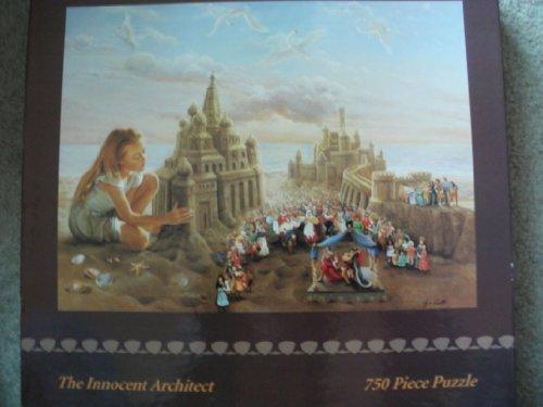 "The Innocent Architect 750 Piece Puzzle 24"" X 18"" Lynn Lupetti"
