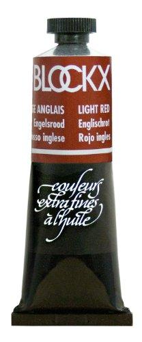Blockx Light Red Oil Paint, 35ml Tube