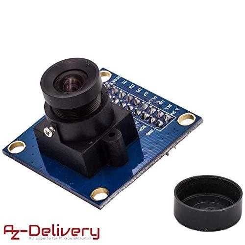 AZDelivery Kamera Modul für Arduino OV7670 300KP VGA-Mini Arducam inklusive E-Book!