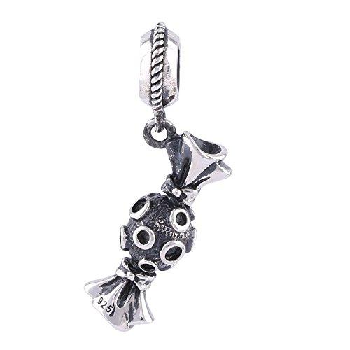 Jinglebell Jewelry Yummy Candy Dangle Charm (925 Sterling Silver)