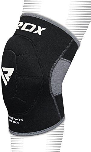 RDX Kniestütze Sport Knieschoner Kniebandage Knieorthese Elastische Knieschützer (Das Paket Enthält Einzelstück)(MEHRWEG)