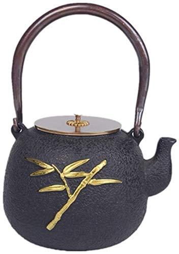 YWAWJ Thé poêle à thé Plateau de thé Mini-Plaque chauffante Bouilloire ML d'eau bouillante (Color : Black, Size : 1200ml)