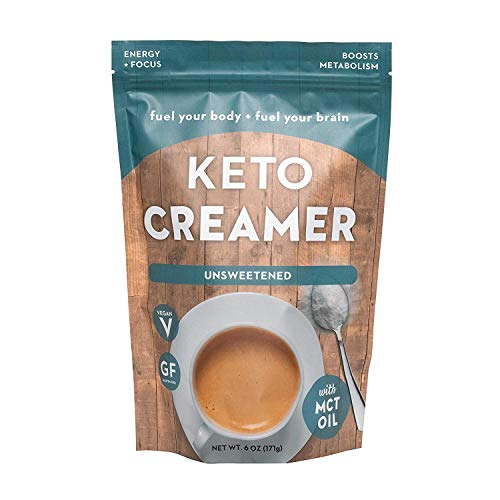 360 Nutrition KETO Creamer With MCT Oil | Unsweetened | Dairy Free Coffee Creamer Milk Substitute | Weight Loss, Energy, Fat Loss...
