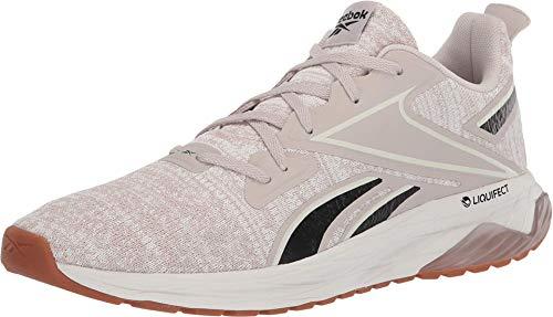 Reebok Men's LIQUIFECT 180 LS Running Shoe, Stucco/Chalk/Black, 14 M US