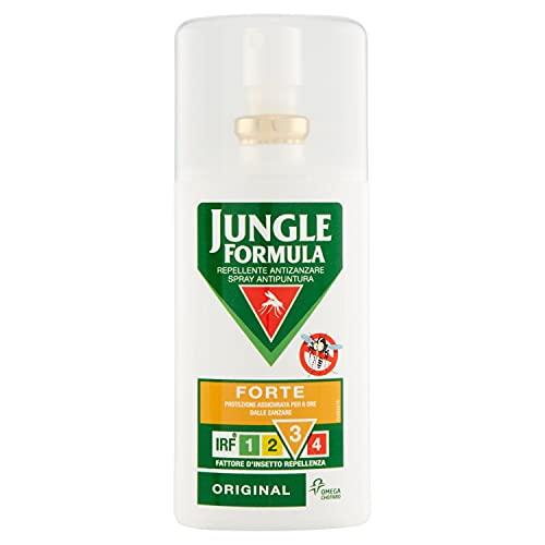 Jungle Formula Forte Repellente Antizanzare, Spray...