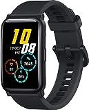 HONOR Watch ES SmartWatch, Fitness Tracker Personal Virtual Coach, Display Touch AMOLED da 1,64 '', Notifica SMS 24/7 Con Pedometro Per Monitoraggio Frequenza Cardiaca/Sonno (Black)