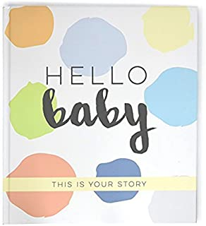 Baby Journal Memory Book Baby's Journey First 5 Years Pregnancy and Birth Story, Footprints, Months 1-12, Birthdays 1-5, F...