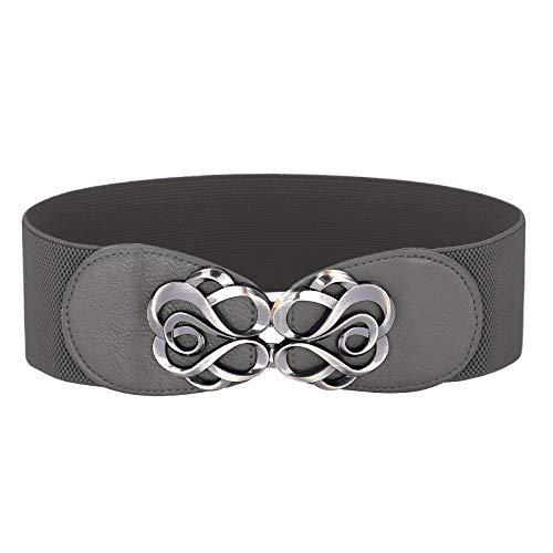 GRACE KARIN Breit Elastische Taillen Band Elastischer Taillengürtel für Kleider Größe L CL413-14