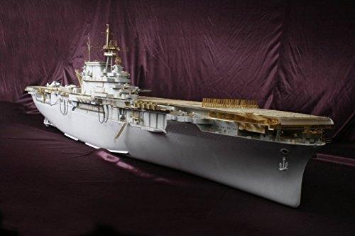 MK.1 Design - Portaerei USS CV-8 Hornet in scala 1:200, super dettagliata, pacco DX per Trumpeter o Merit