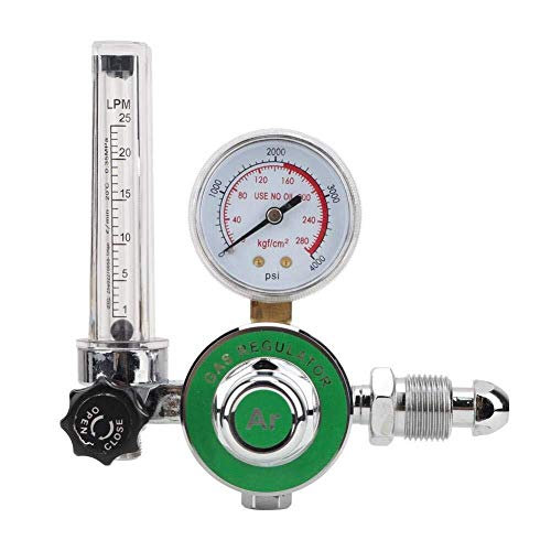 BJLWTQ Reductor de presión argon Reductor G5 / 8-14 Regulador de argón de flujo CGA540 0 a 25 L/MIN 0-25 MPA Medidor de presión