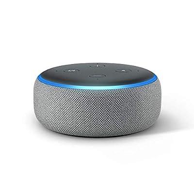 Echo Dot (3rd Gen) - Smart speaker with Alexa - Heather Gray from Amazon
