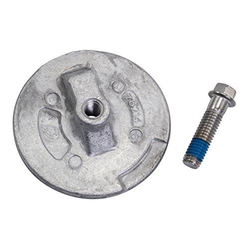 Quicksilver 76214Q5 Aluminum Anode Plate - Mercury Mariner Force and MerCruiser Anti-ventilation Plate