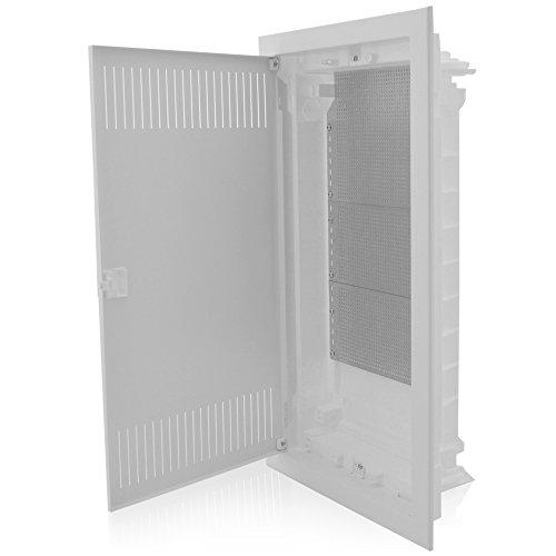 Kommunikationsverteiler Multimediaverteiler Unterputz 592x346x92mm IP40 perfekt für die Ordnung der Multimediasysteme